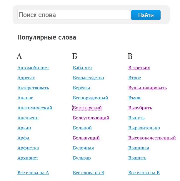 Морфологический Словарь Русского языка Тихонова